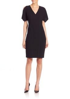 Elie Tahari Lourdes Cold-Shoulder Dress