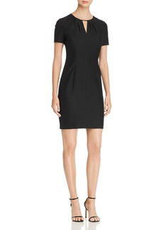 Elie Tahari Lucetta Keyhole Dress