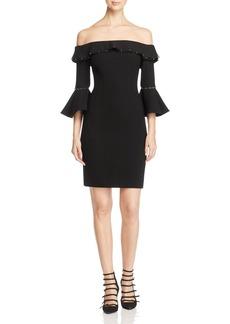 Elie Tahari Lucia Off-the-Shoulder Dress - 100% Exclusive