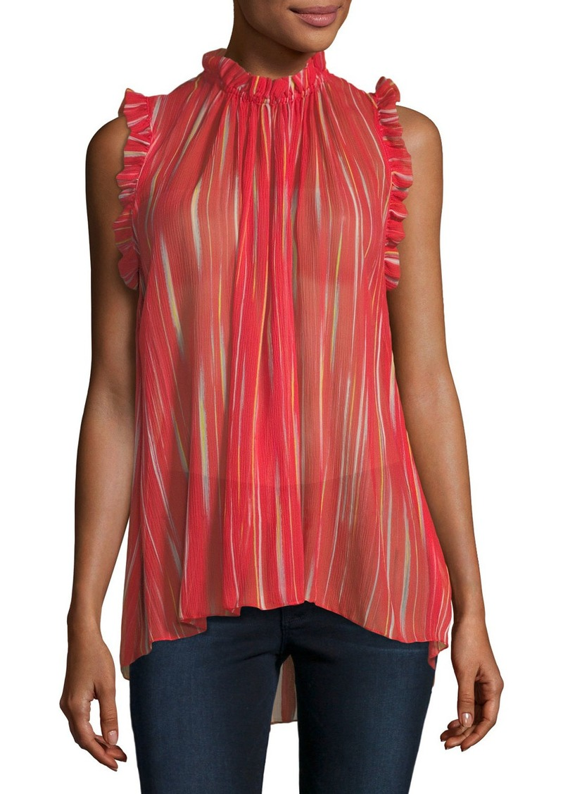 93c2d08fad2aa0 Elie Tahari Elie Tahari Lucy Striped Silk Blouse