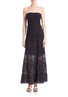 Elie Tahari Lunetta Stretch Strapless Dress