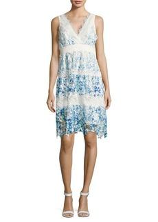 Malina Crocheted Lace Dress