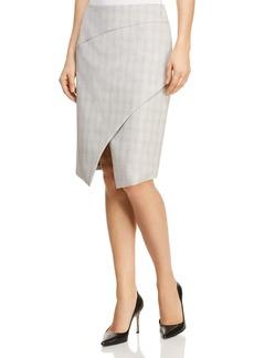 Elie Tahari Manders Faux Wrap Skirt