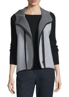 Elie Tahari Margie Hooded Knit Vest