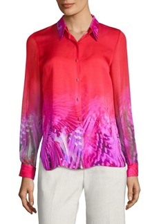 Elie Tahari Martha Silk Blouse