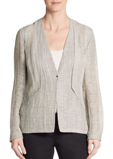Elie Tahari May Linen Jacket