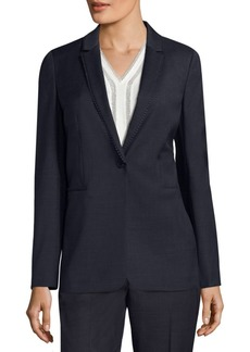 Elie Tahari Maysa Wool Blend Jacket