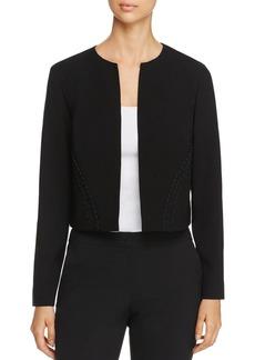 Elie Tahari Mercedes Laced Cording Jacket