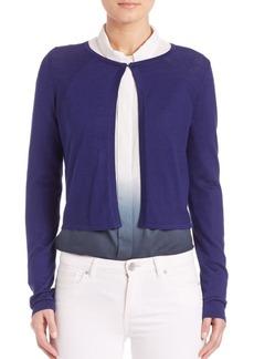 Elie Tahari Mikah Cropped Sweater