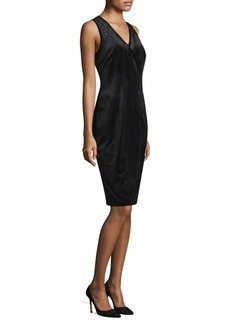 Elie Tahari Mikaya Velvet Dress