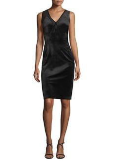 Mikaya Sleeveless Velvet Dress