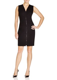 Elie Tahari Mila Zip Sheath Dress