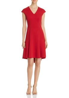 Elie Tahari Moriah Fit-and-Flare Dress