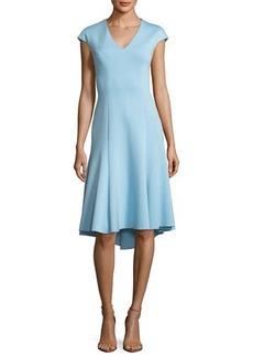 Moriah V-Neck A-Line Dress