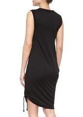 Tahari Woman Nadia Asymmetric Draped Dress