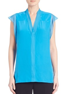 Elie Tahari Nancy Silk Blouse