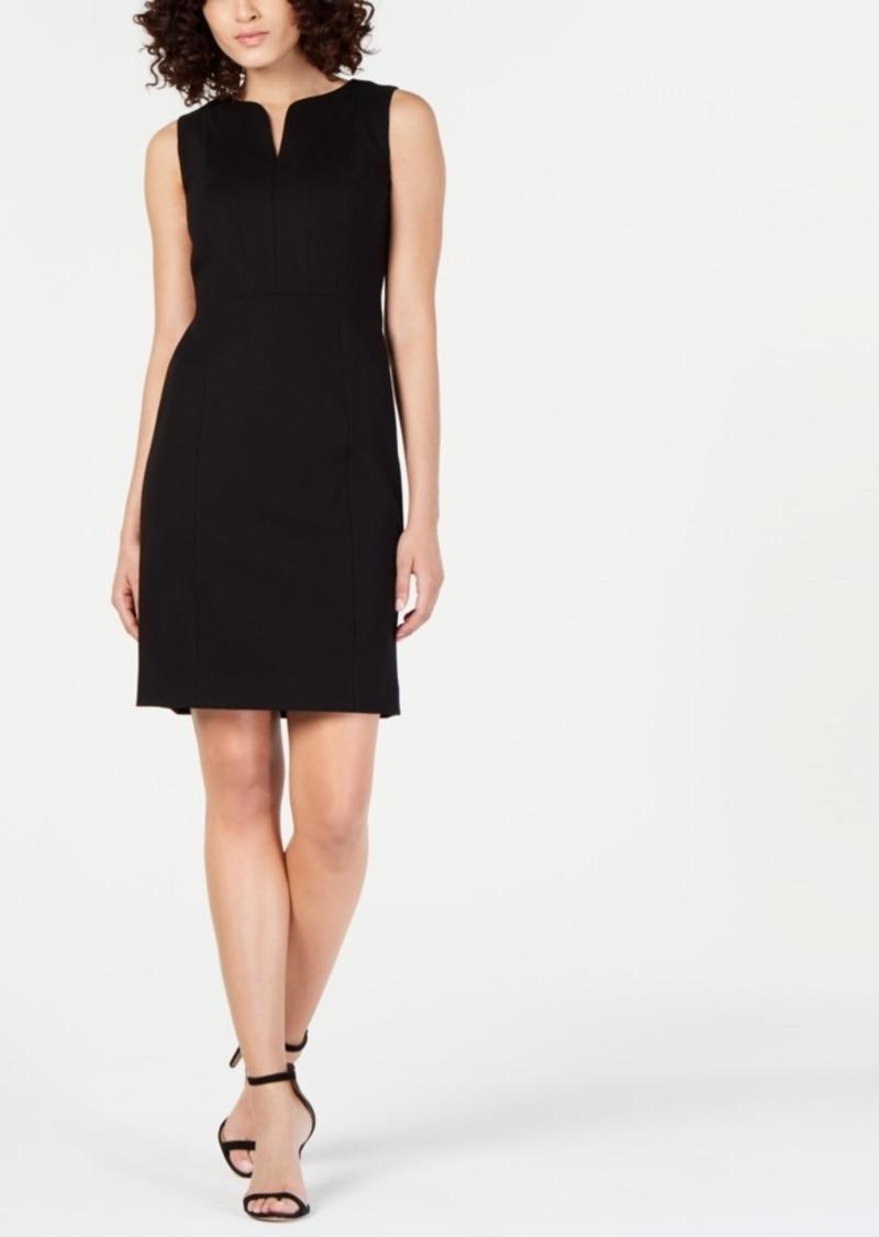 Elie Tahari Natanya Sleeveless Structured Dress