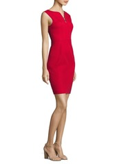 Elie Tahari Natanya Twill Sheath Dress