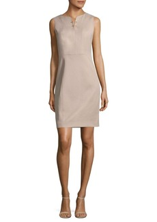 Elie Tahari Natanya Twill Sheath Dress