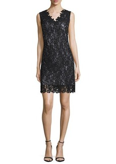 Elie Tahari Naya Lace Sheath Dress