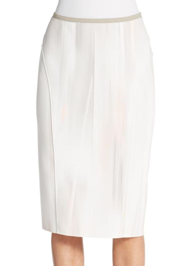 Elie Tahari Neoprene Knit Pencil Skirt