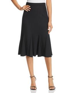 Elie Tahari Oakley Pinstripe Skirt