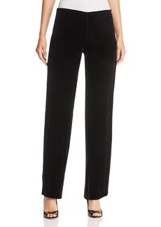 Elie Tahari Odette Straight Velvet Pants