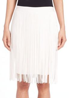 Elie Tahari Olsen Fringed Skirt
