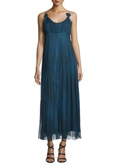 Elie Tahari Opal Sleeveless Maxi Dress