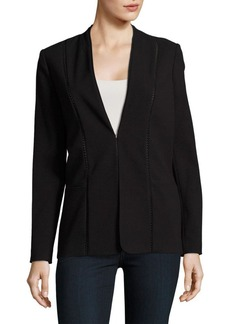 Elie Tahari Open Stitched Rhonda Jacket