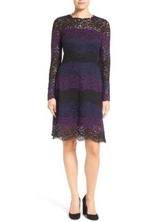 Elie Tahari 'Ophela' Lace A-Line Dress
