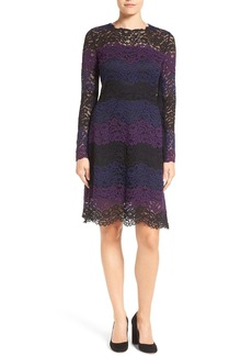 Elie Tahari 'Ophela' Lace A-Line Dress