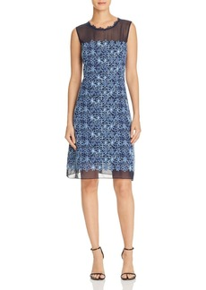 Elie Tahari Ophelia Embroidered Dress
