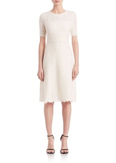 Elie Tahari Ophelia Lace A-Line Dress