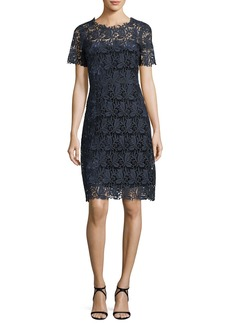 Elie Tahari Ophelia Lace Sheath Dress