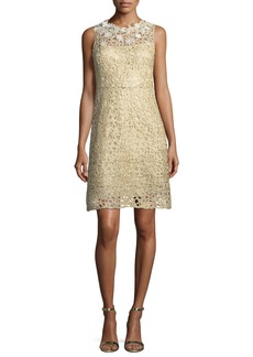 Elie Tahari Ophelia Sleeveless Lace Dress