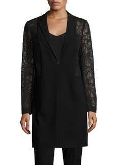 Elie Tahari Pam Split Back Coat