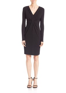 Elie Tahari Paula Ruched Dress