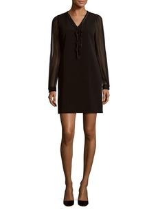 Elie Tahari Pencey Embellished Dress