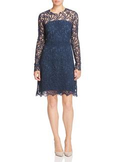 Elie Tahari Priscilla Lace Sheath Dress