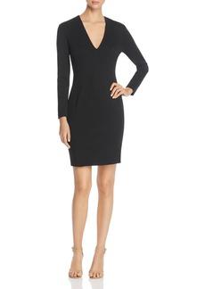 Elie Tahari Prisha V-Neck Sheath Dress