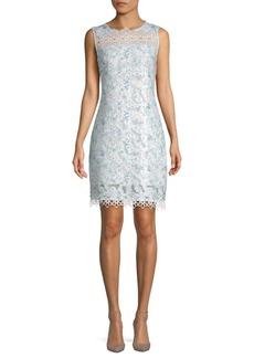 Ramira Printed Scalloped Dress