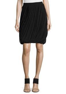 Tahari Woman Remmi Asymmetric-Draped Skirt