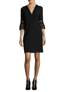 Elie Tahari Ricky Bell Sleeve Dress