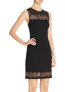 Elie Tahari Rita Lace Panel Sheath Dress - 100% Exclusive