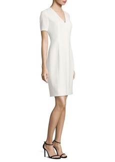Elie Tahari Roanna Dress Satin Sheath Dress