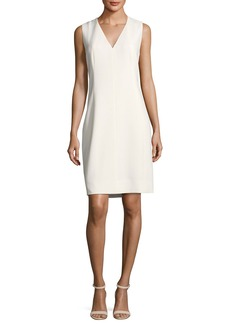 Elie Tahari Roanna Sleeveless V-Neck Dress