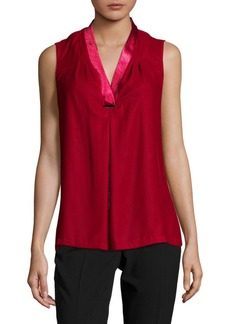 Elie Tahari Rosalyn Sleeveless Blouse