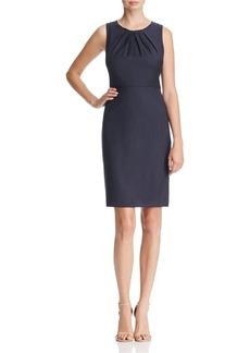 Elie Tahari Rosario Micro Plaid Sheath Dress