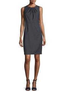 Elie Tahari Rosario Sleeveless Stretch-Wool Dress